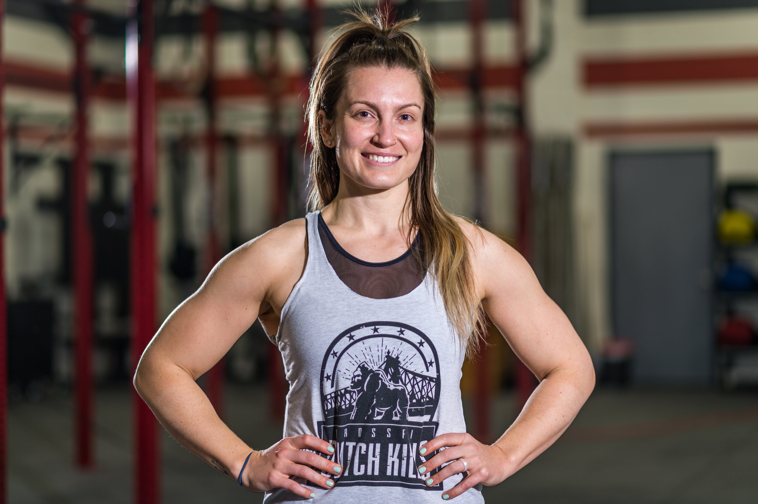 KASEY HEIL   Hometown: Los Gatos, California   CrossFit Level 1 CrossFit Endurance  CrossFitting since 2012 Favorite Movement: Snatch Least Favorite Movement: Toes to Bar