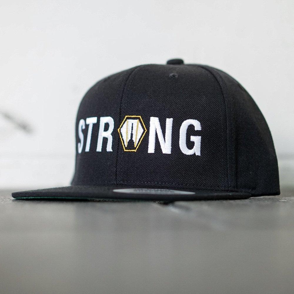 bb11dd37bd924 Hat - Snapback - City Strongman Strong - Black — Dutch Kills Fitness