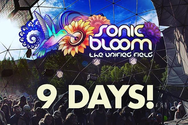 Only 9 more days until SONIC BLOOM! 4 Days / Nights of bass music under the Colorado stars... #SONICBLOOM #HummingbirdRanch #Colorado #FestivalLife @SONIC_BLOOM_