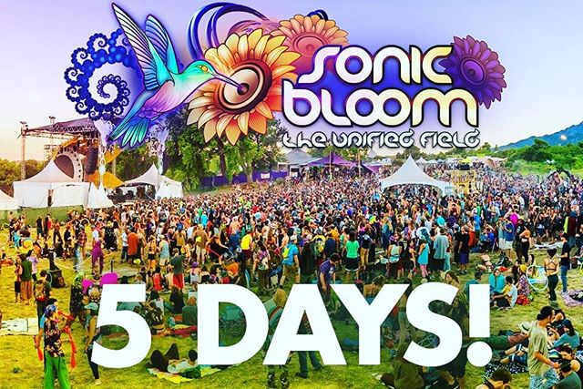 Only 5 more days until the early-arrival gates open! Come early and avoid the Thursday rush, score the best camping spots and be totally dialed-in by the time the workshops and then music start on Thursday afternoon! Last call on VIP upgrades & packages... 4-Day / 3-Day / 2-Day & Single-Day passes are available while they last.... (link in @SONIC_BLOOM_ profile)  #SONICBLOOM #FourNights #CreeksideCamping #InternationalLineup #SunriseSets #YogaMusic #Workshops #Permaculture #Wellness #OrganicFood ChildrensVillage #Slacklines #VirtualRealitySets #ArtGallery #Speakers #Performers #LivePainters #Muralists #ShadedTreeCamping #SummerSolstice #InternationalYogaDay #TreeNets #Nature #Community
