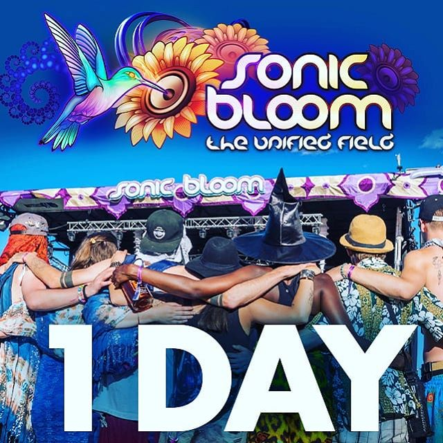 Only ONE more day until the Early-Arrival gates open! Snag your Early-Arrival pass and avoid the Thursday rush, take your time setting-up your mini-world and make it feel like home and be totally settled-in by the time the workshops and then the music and Opening Ceremony happen on Thursday Afternoon! . Tent Camping Packages are available to rent or purchase in case you want a styling custom SONIC BLOOM Tent that blocks-out all the light and keeps you an average of 25 degrees cooler than a normal tent... . . There are only a few more VIP Packages & Upgrades left now - last call on those!  Car camping is also filling up... . . Who needs a reminder to get their passes and start packing to go with you?! Please help me to help make SONIC BLOOM a tradition that keeps growing by helping to spread the word!