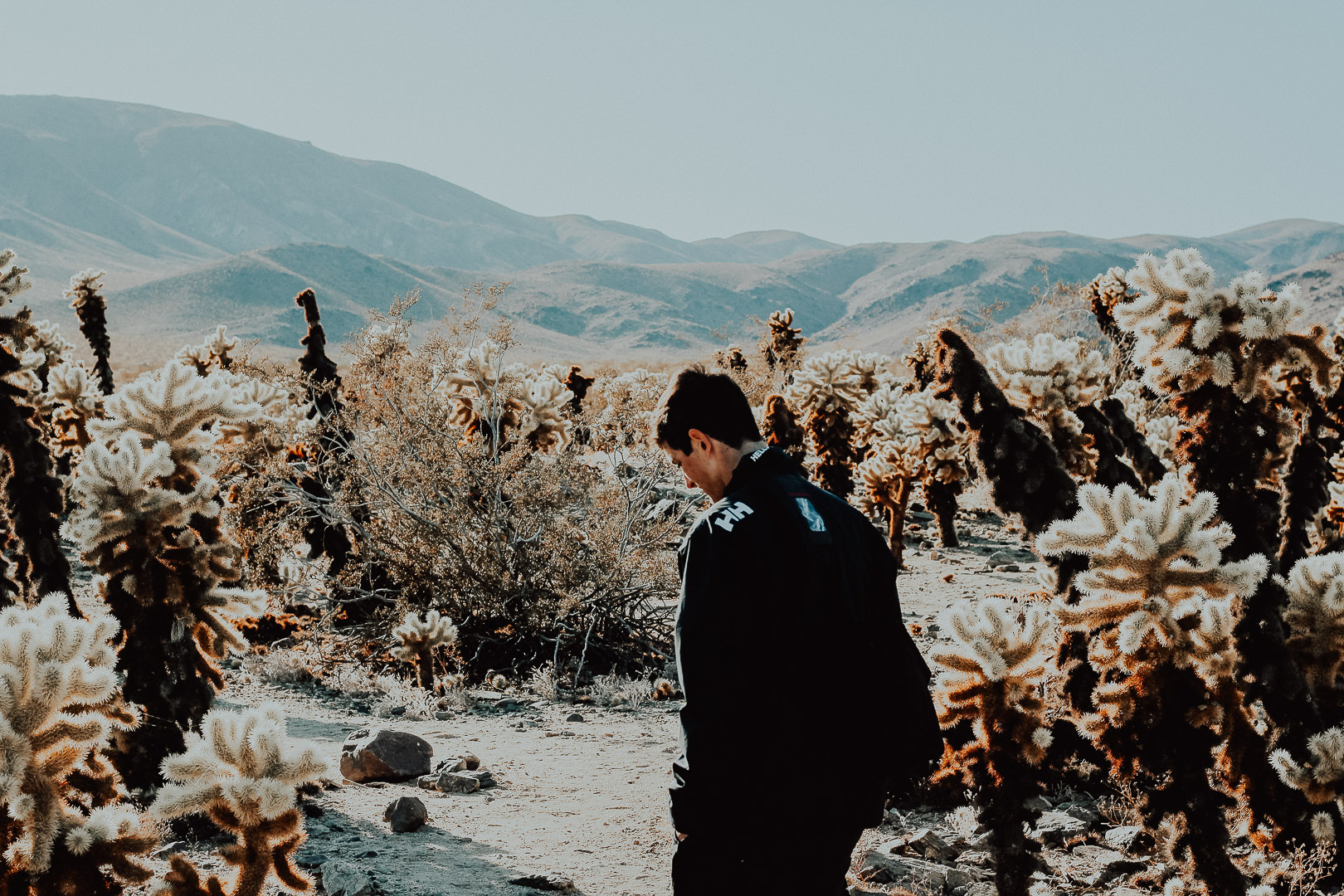 Earlier this year, - Nick & I went to explore Joshua Tree National Park. Even though its only a few hours away, it was my first time going to the park-- and I really loved it! Something about Joshua Tree is so peaceful and gives you a sense of contentment.