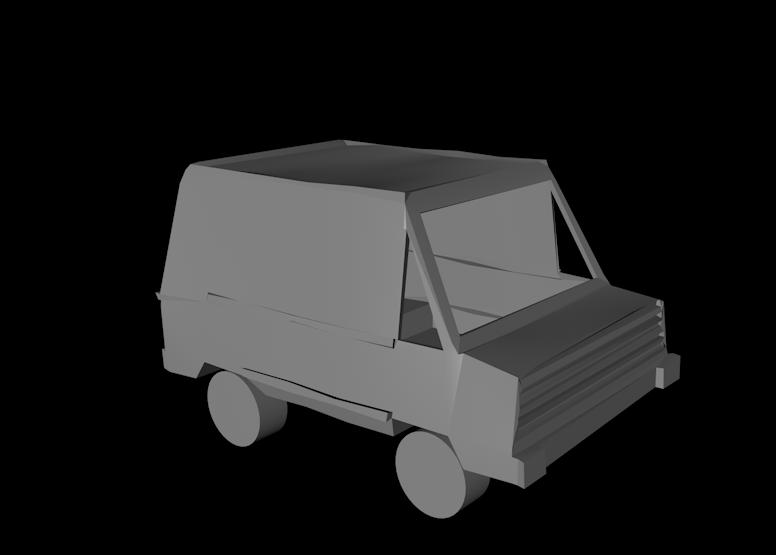 Paper City Car
