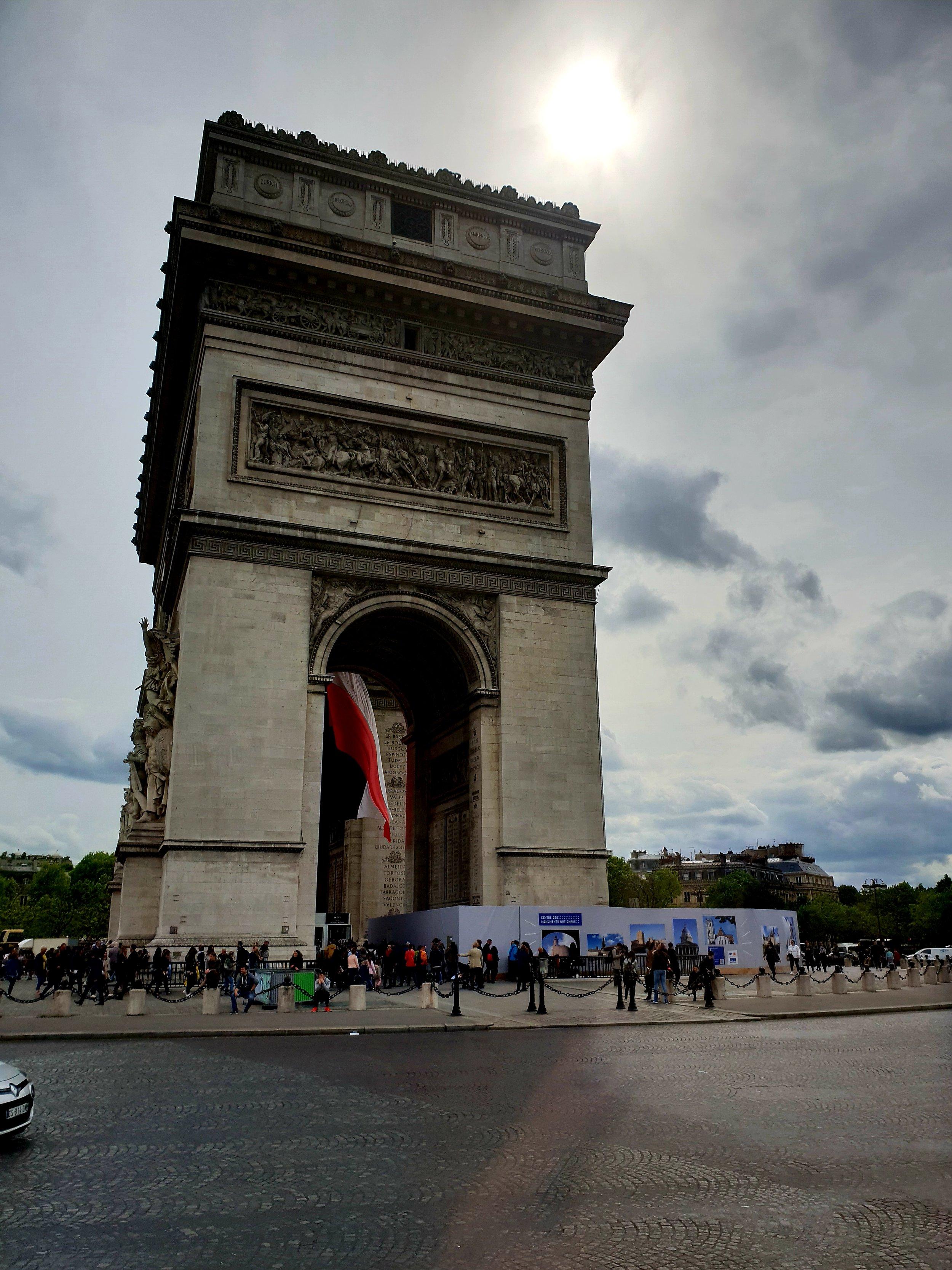 Arc of Triumph, Des Champs-Elysees