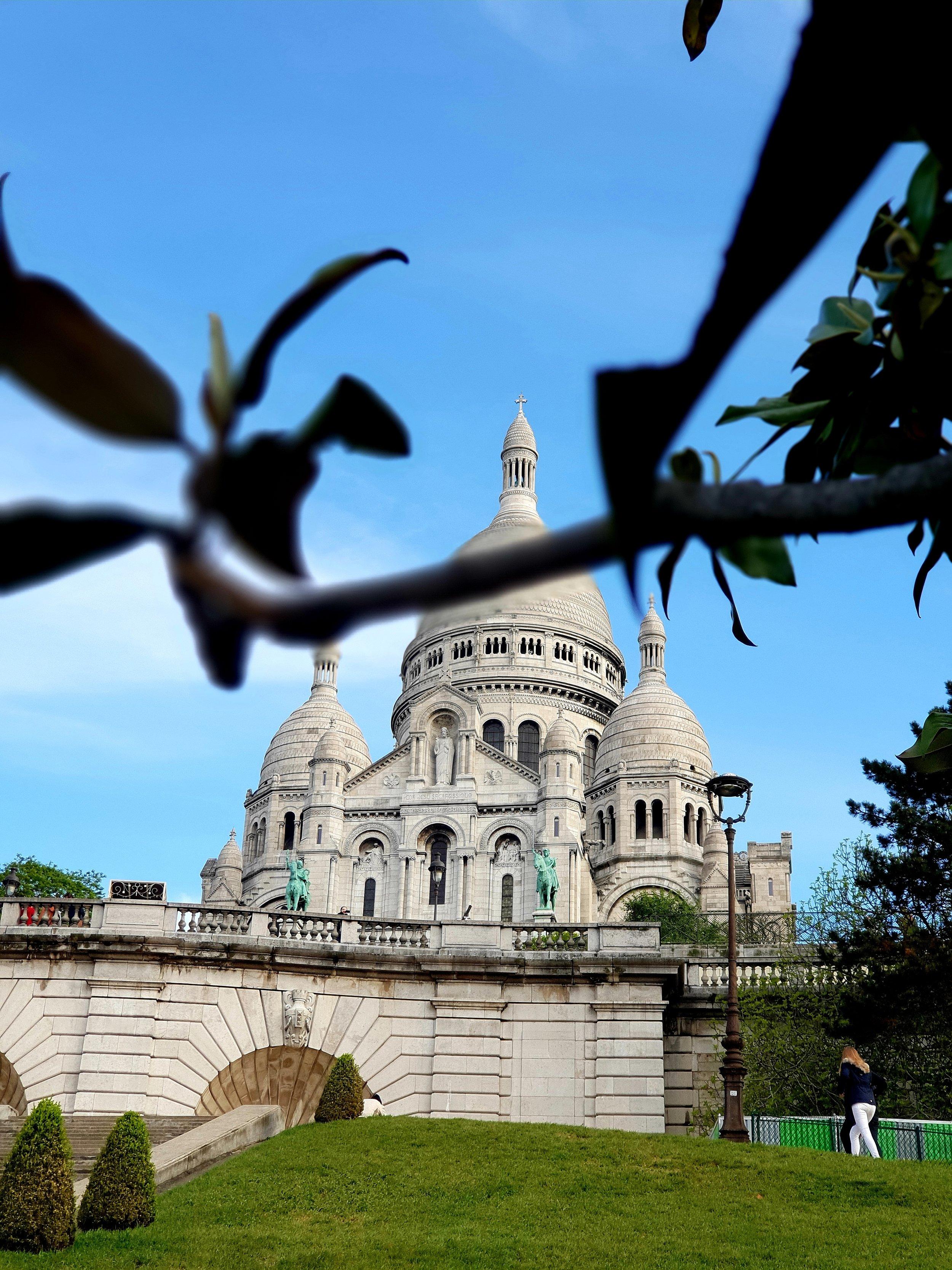 Basilica de Sacre Coeur, Montmartre