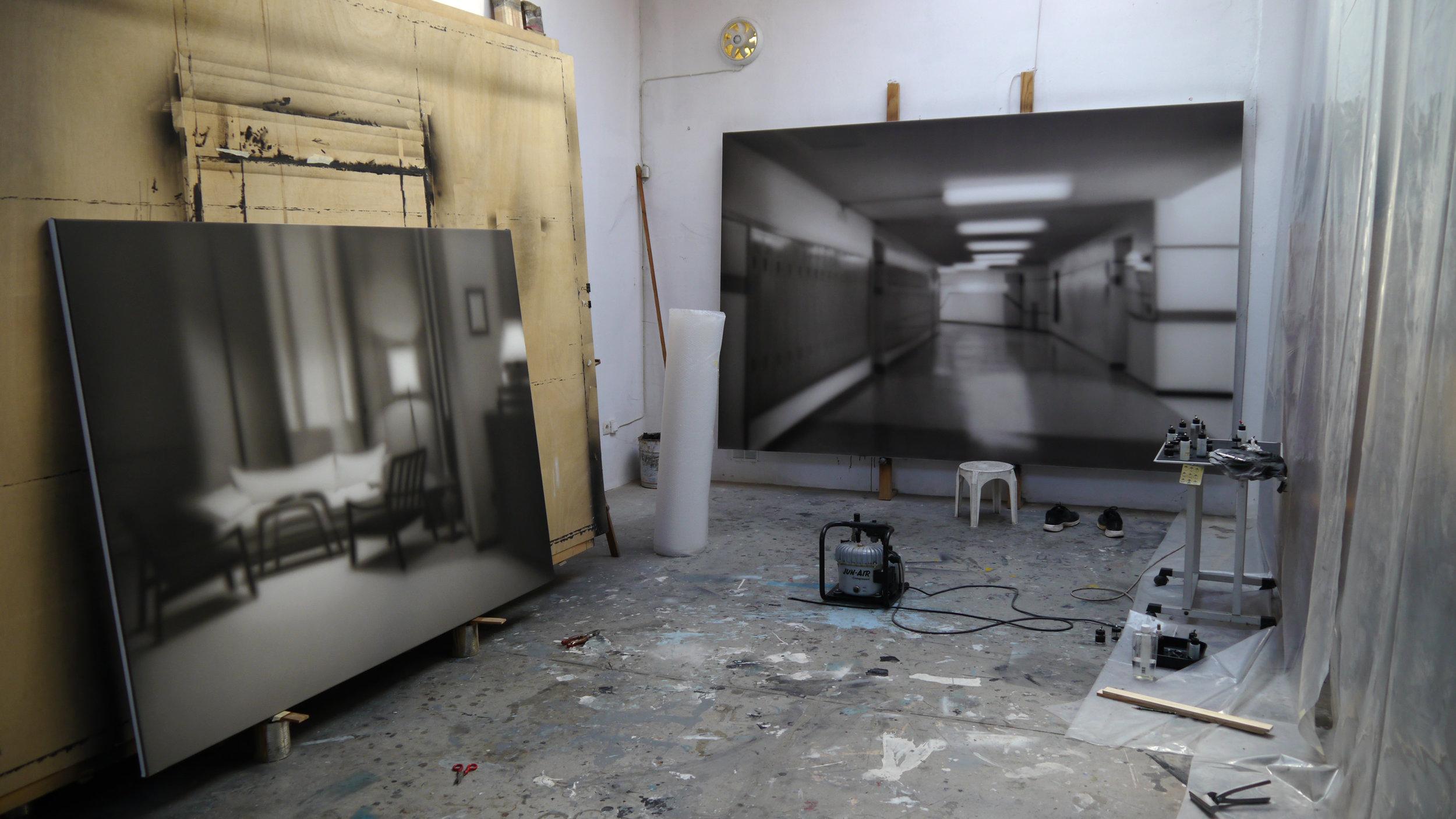 studio view, 2013