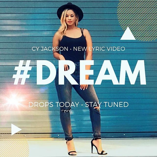 ✨ D R E A M • L Y R I C • V I D E O ✨  Drops Today STAY TUNED  Album : #BALANCE Song : #DREAM #cyjackson  #newmusic #popmusic #upcomingartist #comingsoon #billboard #mtv #vh1 #bet #indieartist #musicvideo #singer #songwriter #artist  #beinspired  #contemporarymusic #ngenradio #air1radio #reachrecords  #unashamed #capitalrecords #myblock #dreambig  #tobymac  #bethechange #lit