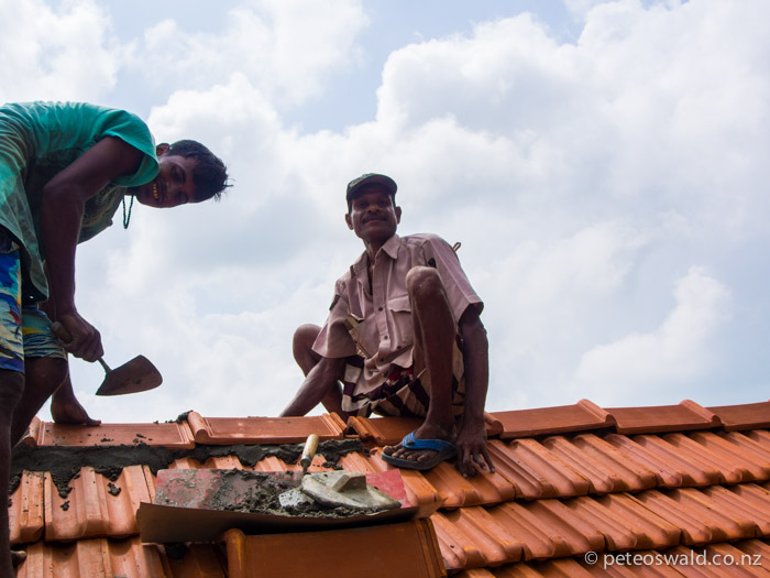 Putting the final tiles on the roof