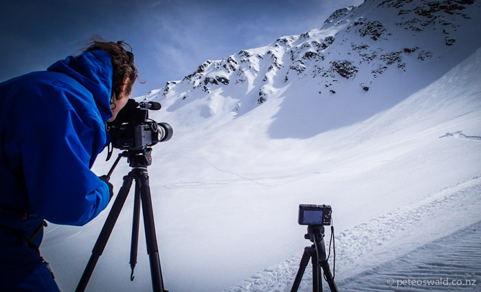 Shooting on the Sony FS700 for the Marmot annual team shoot in St Jakob, East Tirol, Austria
