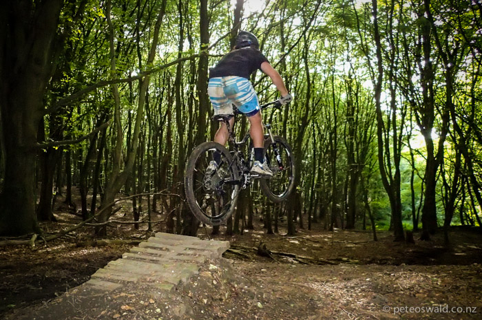 There is some pretty sweet mountain bike trails on the IOW. Photo: Sophie Stevens
