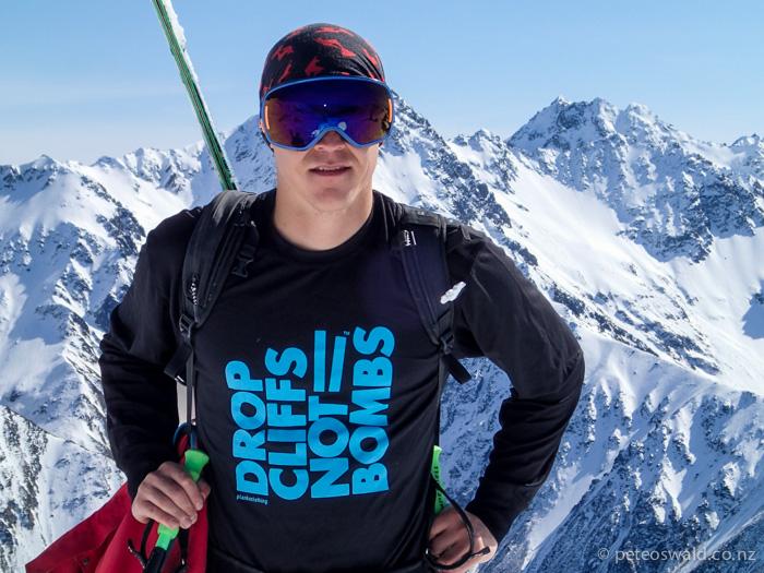 Lukas sporting  Planks Ski Clothing (and the right attitude)OLYMPUS DIGITAL CAMERA