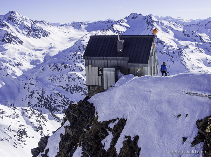 Mountain enthusiast and super nice guy, Alex Mörtl and I stayed in this hut at exactly 3000m for acclimatisation in preparation for Mont Blanc