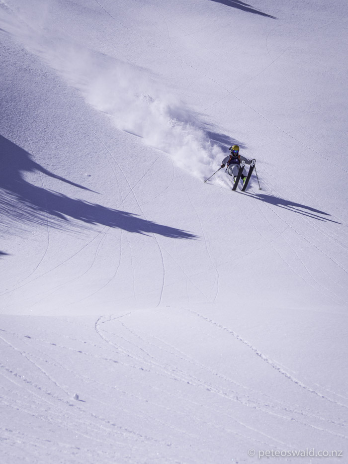 Powder Wheelie!!! Photo: Charlie Lyons