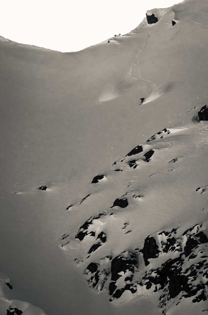 My last line of the season was also one of my best. Photo: Sophie Stevens