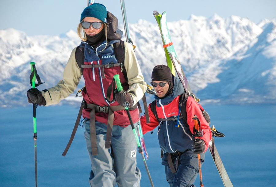 Soph & Pete in Norway. Photo: Tove Kockum