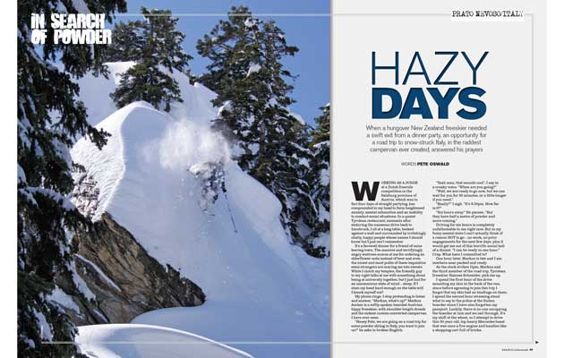Fall-Line Magazine - Hazy Days