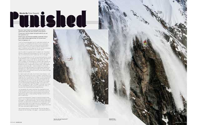 NZ Skier Magazine - Punished