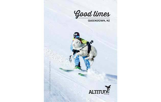 Beer Magazine - Altitude Brewing Ad