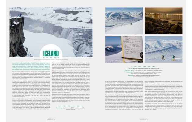 NZ Skier Magazine - Iceland