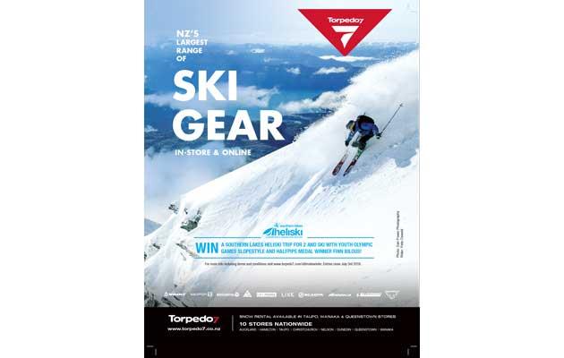 NZ Skier Magazine - Torped07 Ad