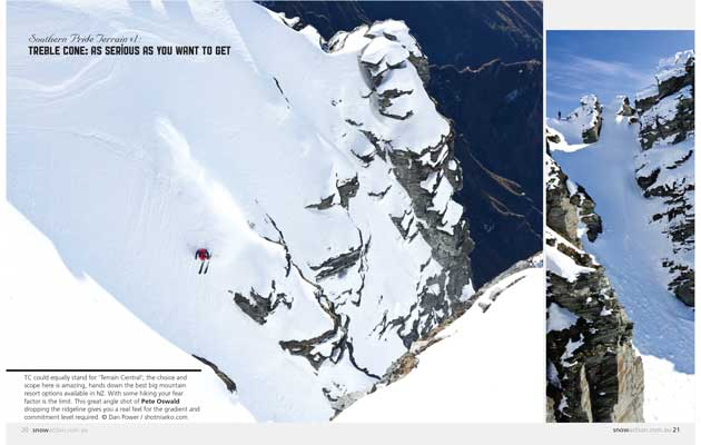 Snow Action Magazine - Southern Pride, Treble Cone