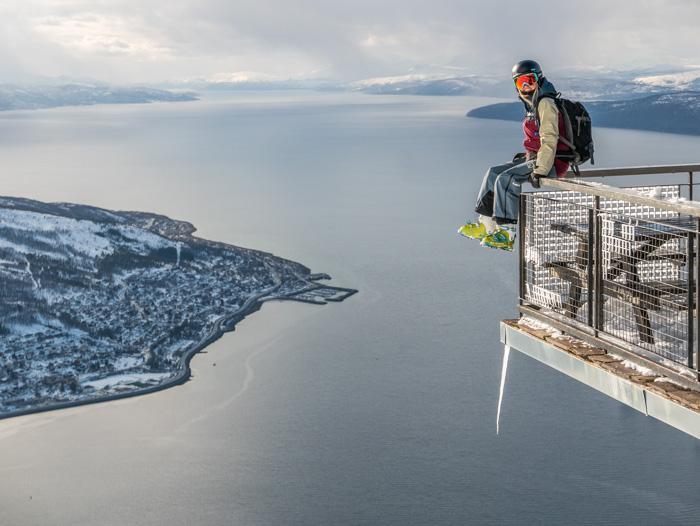 Views from Narvikfjellet. Photo: Pete Oswald