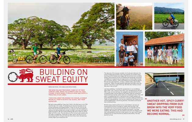 Australian Mountain Bike Magazine - Building On Sweat Equity