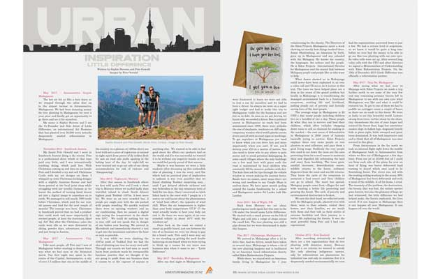Adventure Magazine - Little Difference