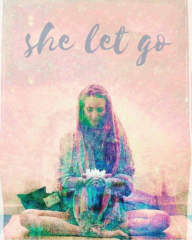 She let go. Without a thought or a word, she let go. She let go of fear. She let go of the judgments.  She let go of the confluence of opinions swarming around her head. She let go of the committee of indecision within her. She let go of all the 'right' reasons. Wholly and completely,  without hesitation or worry, she just let go. She didn't ask anyone for advice. She didn't read a  book on how to let go… She didn't search the scriptures. She just let go. - She let go of all of the memories that held her back.  She let go of all of the anxiety that kept her from moving forward.  She let go of the planning and all of the calculations about how to do it just right. She didn't promise to let go.  She didn't journal about it.  She didn't write the projected date in her day-timer. She made no public announcement and put no ad in the paper.  She didn't check the weather report or read her daily horoscope.  She just let go. - She didn't analyze whether she should let go.  She didn't call her friends to discuss the matter.  She didn't do a five-step Spiritual Mind Treatment.  She didn't call the prayer line.  She didn't utter one word. She just let go. No one was around when it happened.  There was no applause or congratulations.  No one thanked her or praised her.  No one noticed a thing.  Like a leaf falling from a tree, she just let go. - There was no effort. There was no struggle.  It wasn't good and it wasn't bad.  It was what it was, and it is just that. In the space of letting go, she let it all be.  A small smile came over her face.  A light breeze blew through her. And the sun and the moon shone forevermore. - ~ Reverend Safire Rose - Having lunch with my beautiful friend and fellow yogi who introduced me to these touching words. Now one of my all time favourite readings. #itiswhatitis #letthatshitgo - #detachment #livingyoga #vairagya #consciousliving #selfcare #mindset #innerpeace #wordstoliveby #yoga #yogaphilosophy #yogateacher #mindfulmama #yogamum #yogainspir