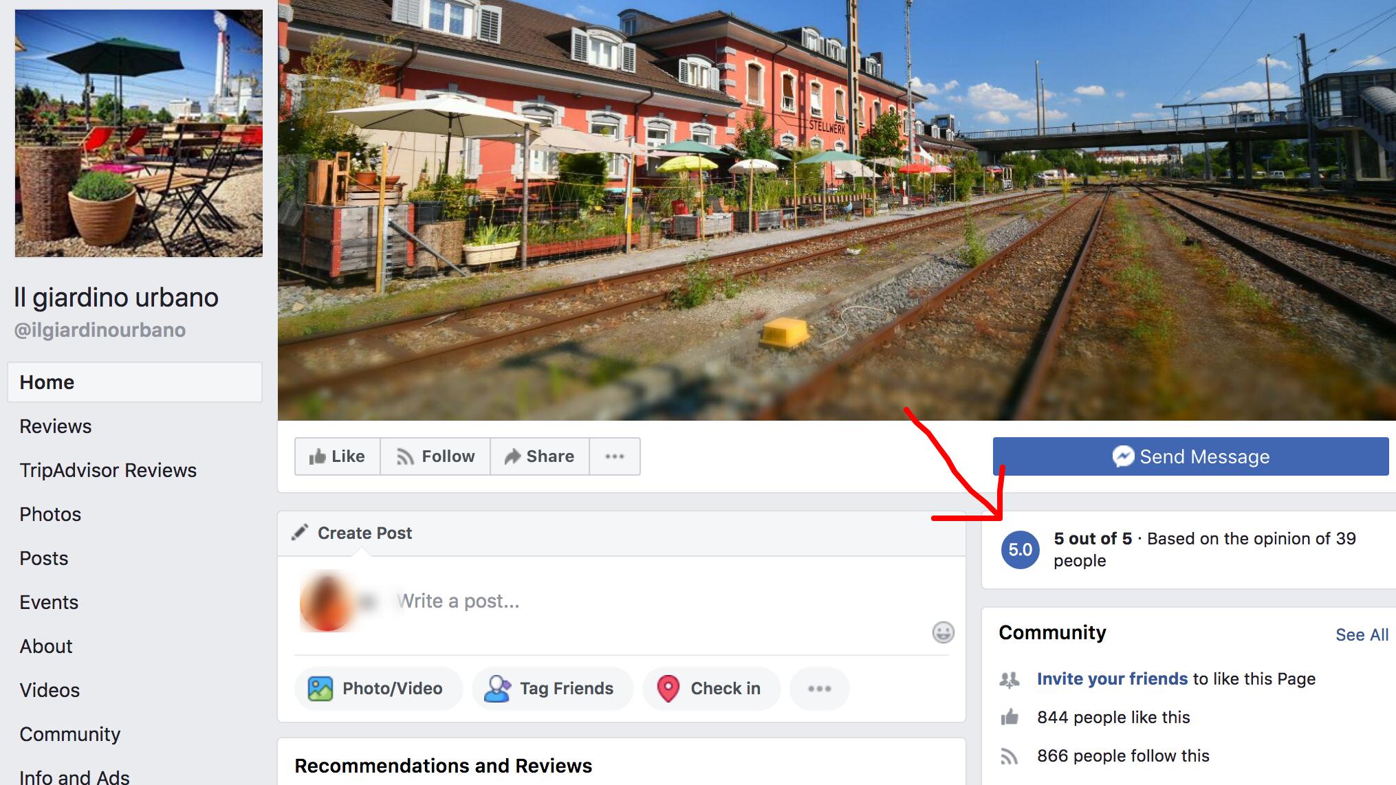 Facebook Reviews of  Pizzeria Il Giardino Urbano in Basel