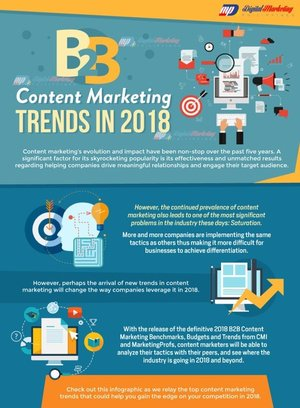 8/ 2018 Trends in B2B Content Marketing
