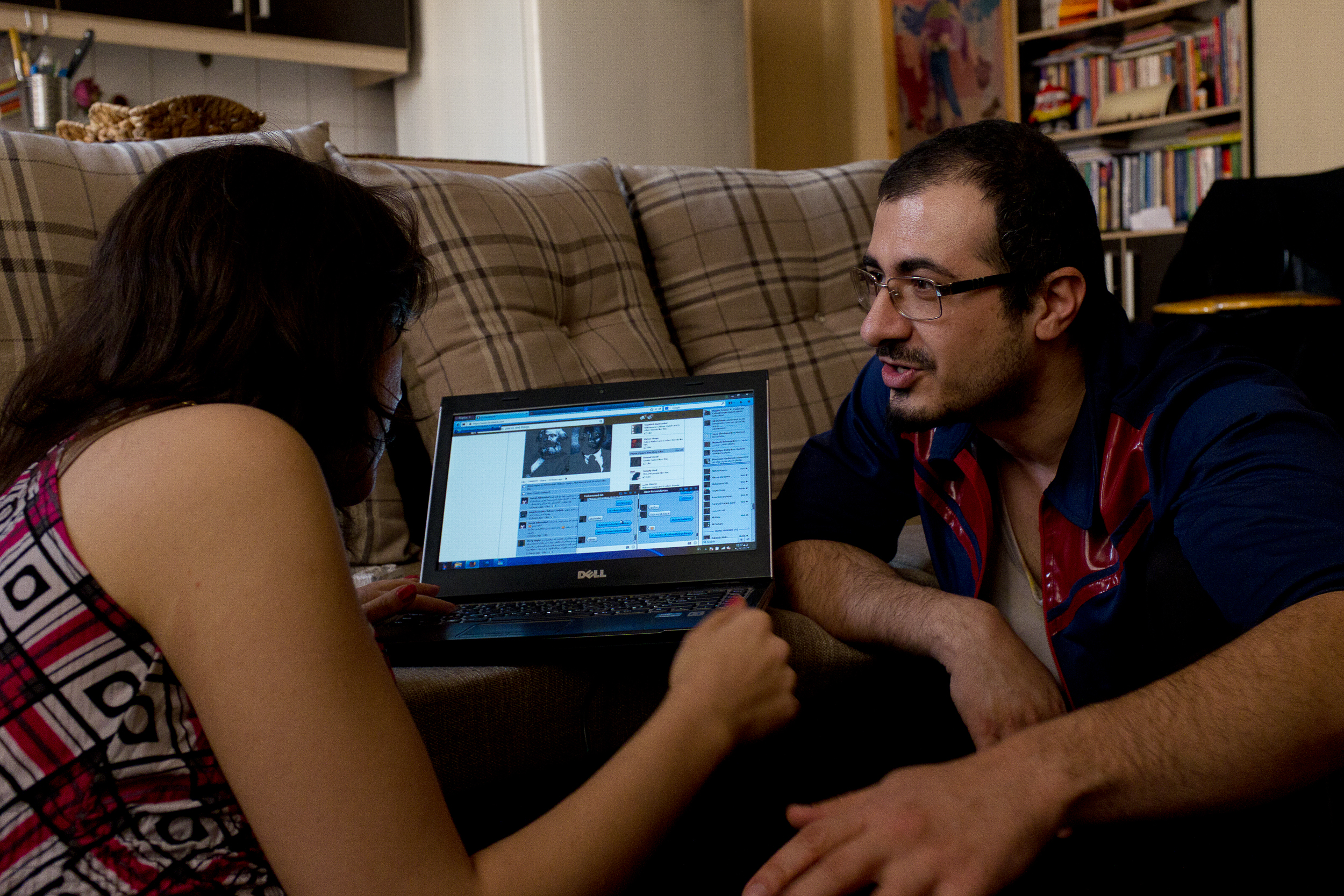 Sara and Salman use Facebook to invite friends to their upcoming party. Facebook is banned in Iran, but most young people freely access the site through the use of proxy defying software like Tor.