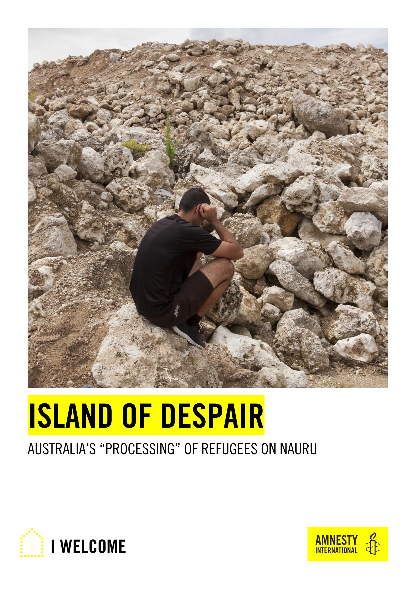 Australia: Island of Despair - Amnesty International report