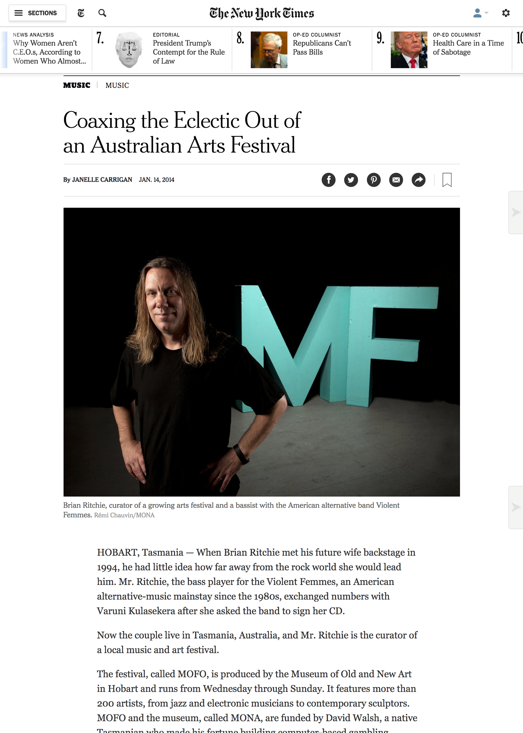 Coaxing Eclectic - The New York Times