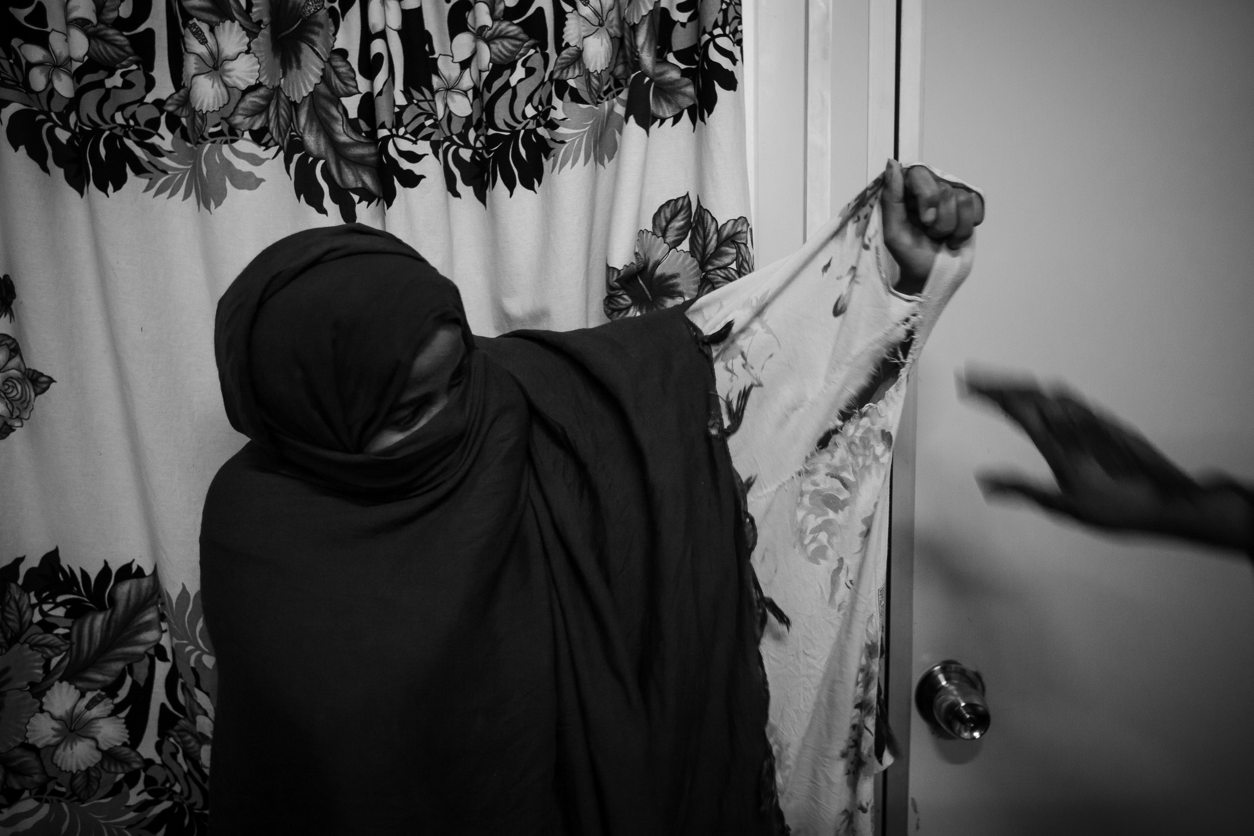 The single Somali women have forged close bonds, as they have no one else to rely on in such a foreign place. They told me they sleep wearing jeans because it will make it harder to be raped. In 2016, one of the Somalis set herself on fire in a horrific act of despair.