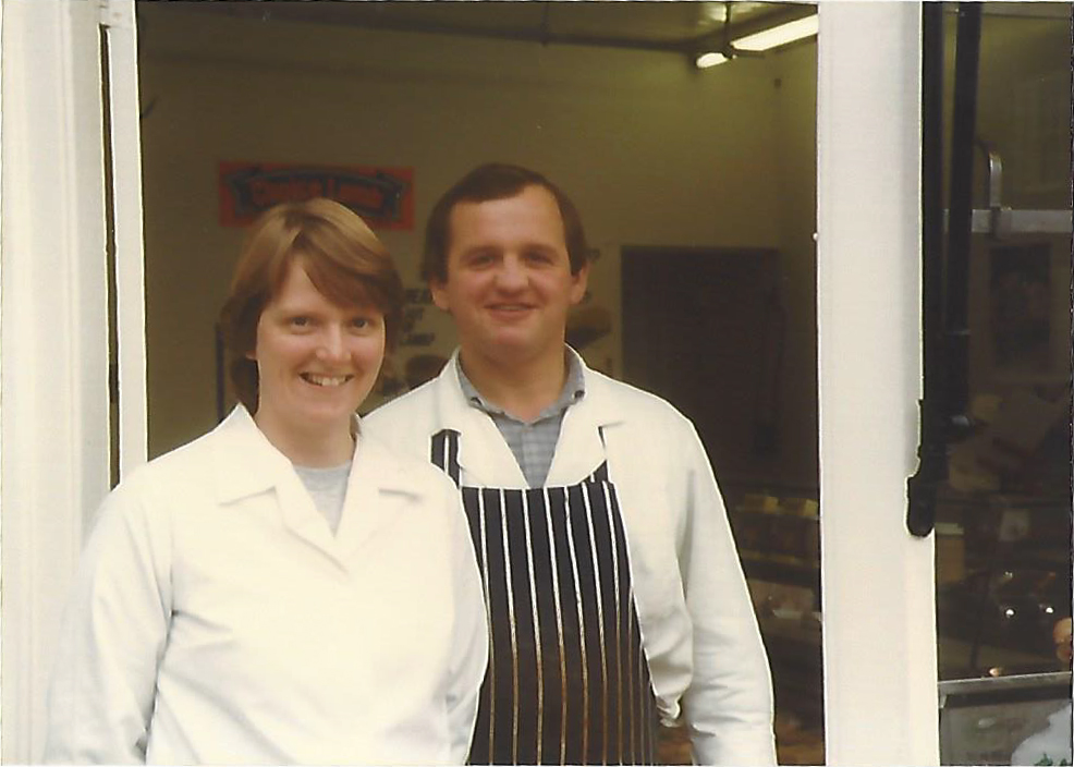 Bill & Rowena Crouch, Crouch independent Kent butcher