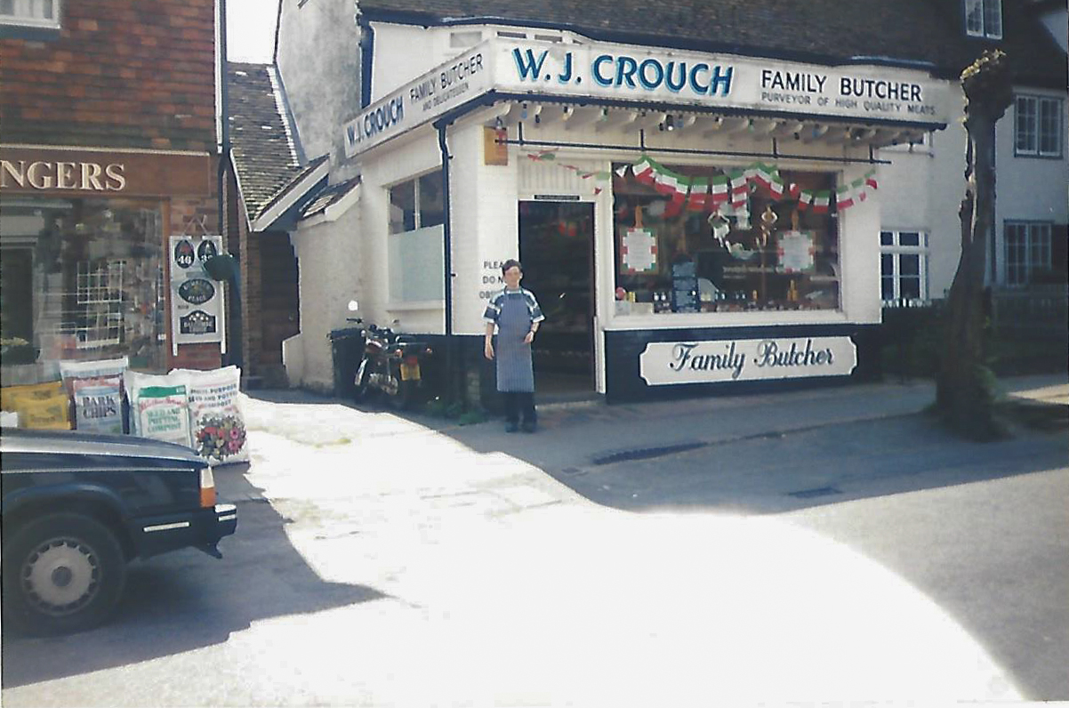 Rob Crouch at Crouch butchers, Kent independent butcher