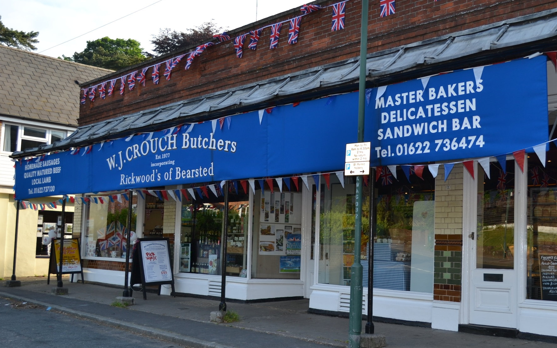 Crouch independent family butcher, Wadhurst, Kent