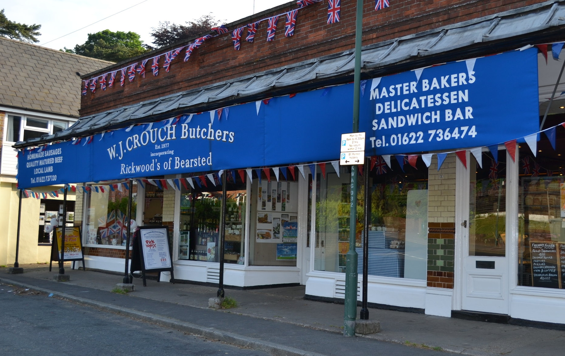 Crouch independent family butcher Bearsted, Kent