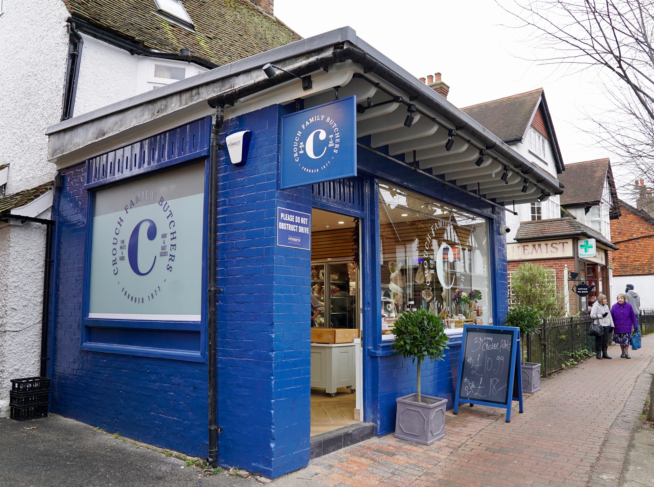Crouch independent butchers in Wadhurst, Kent