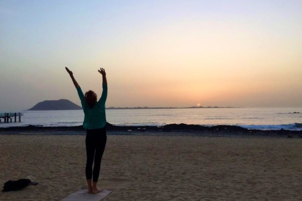 Frauke Yoga - classes and retreats in Fuerteventura, Canary Islands