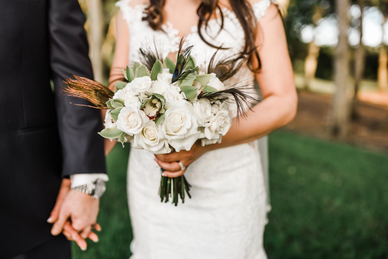 Bride and groom close up, walking, bouquet, Houston Texas wedding photographer, Sweet Nest Photography