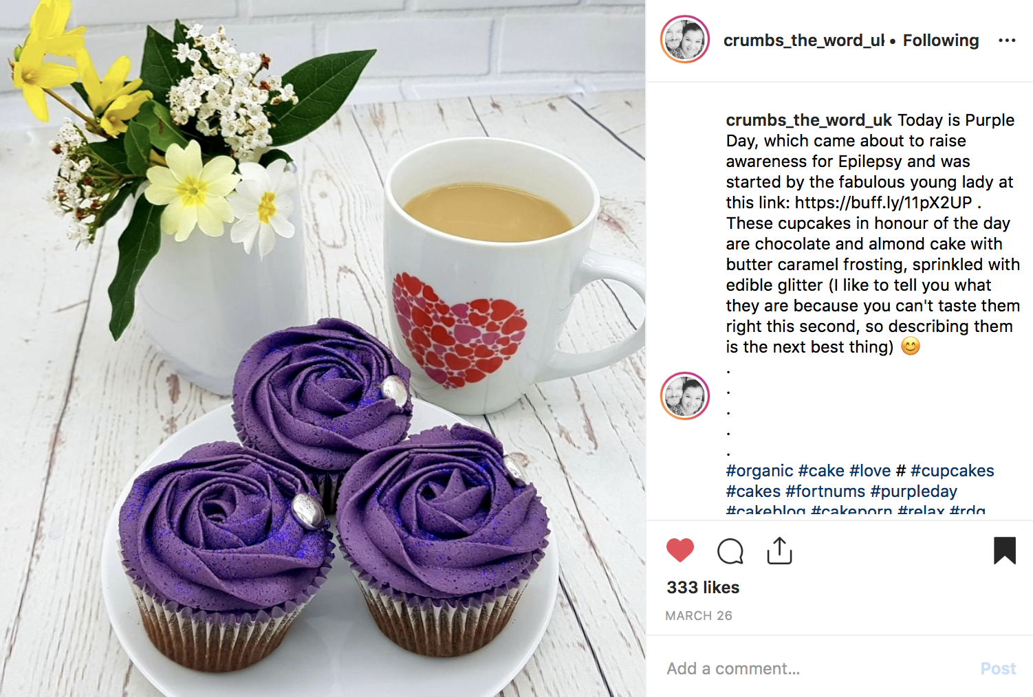 Purple Day - using Boss Your PR social media planner