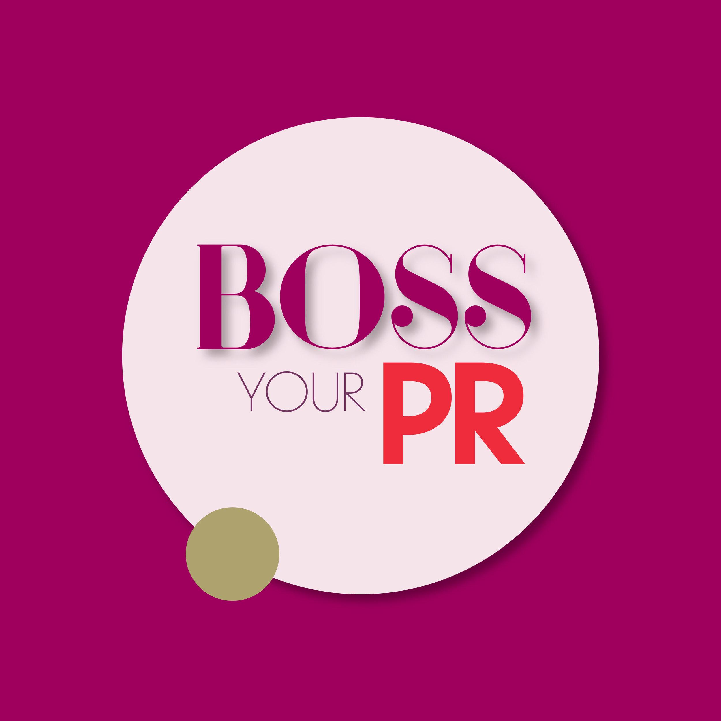Boss Your PR Logo