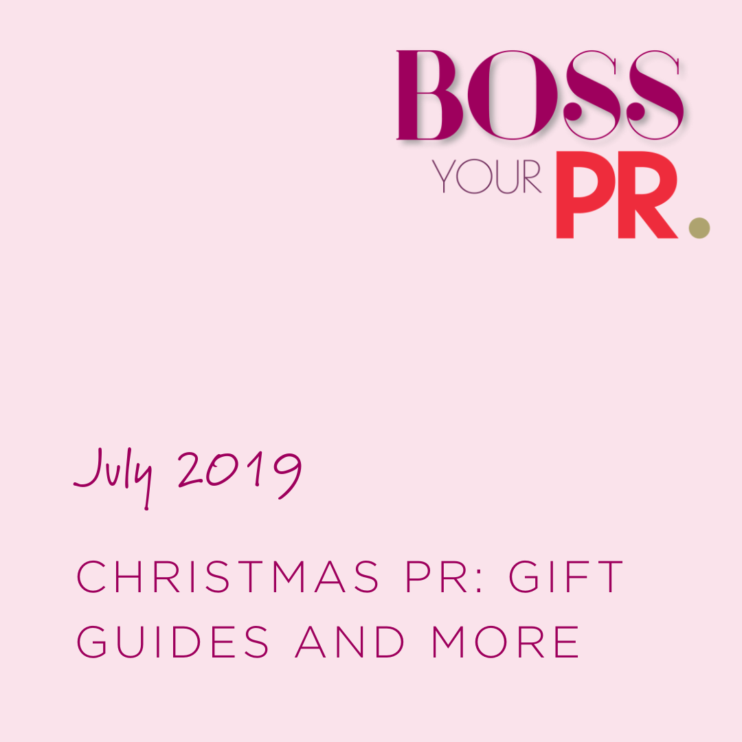 July 2019 Christmas PR