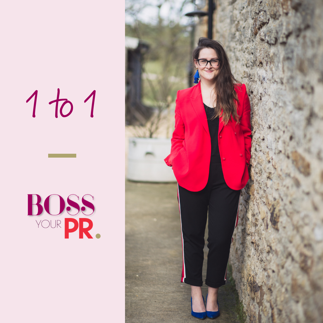 Boss Your PR Mentoring Offer DIY PR