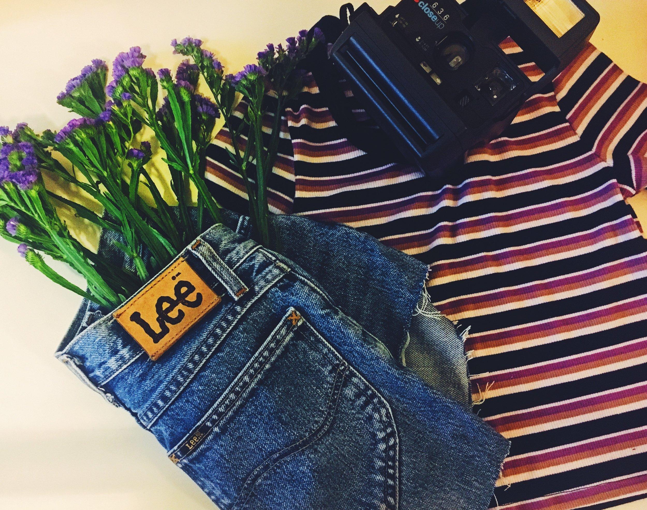 Retroshoot - #Lee jeans + Polaroid = never enoughWeekend vibes