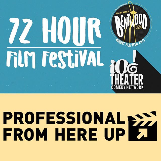 The Professional From Here Up team is participating in the Bentwood 72 hour film fest that kicks off tonight! Stay tuned as we write, produce, film, and edit a short film in just 72 hours! 🎬 . . . #independentfilm #independentfilmmaker #indiefilm #supportindiefilm #chicagofilm #chicago #womeninfilm #femalefilmmakers #bentwood #72hourfilmfestival #webserieswednesday #iochocago #iocomedynetwork