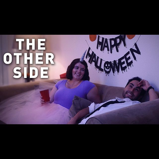 Happy Female Filmmaker Friday! We are so excited to share our first short film made as a part of the @iocomedynetwork 72 Hour Film Festival. At the screening, 'The Other Side' won Best Writing, Best Technical Production, Best in Show, and Charna's Favorite! Huge thanks to our incredible team @thehabbott @breannabenedict @treytech3 @katiejeannine & @magdieljon for all of their hard work. Link in the bio! 🎬 . The Other Side After a Halloween party, Claire's boyfriend, Lloyd, asks her to marry him. Before she can give him an answer, she must first consult her most trusted advisors. 🎥 . . . #theotherside #shortfilm #72hourfilmfestival #indiefilm #independentfilm #indiefilmmaker #supportindiefilm #womeninfilm #femalefilmmaker #femalefilmmakerfriday #chicago #chicagofilm #comedy #horror #iocomedynetwork #professionalfromhereup