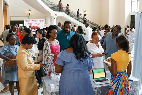 LaQuinte' Brinson's book signing at The House of Hope Atlanta (Photo Credit: Rahcorp Visual Group)